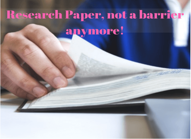 Help on research paper